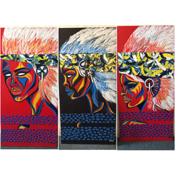 Completed Triptych