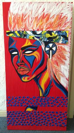 Headdress Triptych 3/3