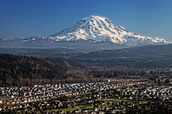 Mount Rainier from South Hill USGS photo