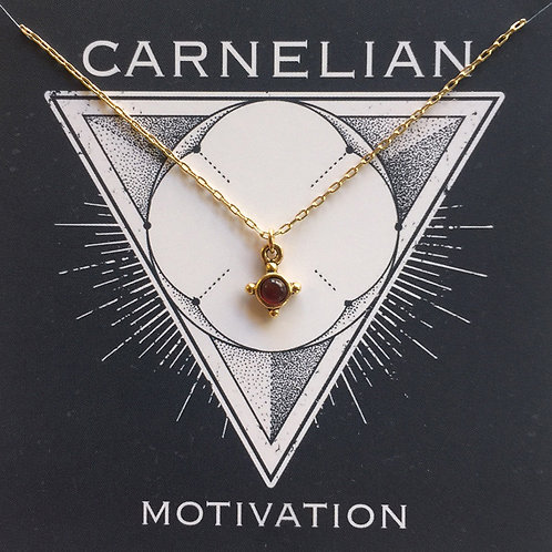 Carnelian - Gemstone Powers Necklace