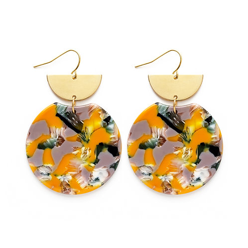 Pollock Earrings- Summertime