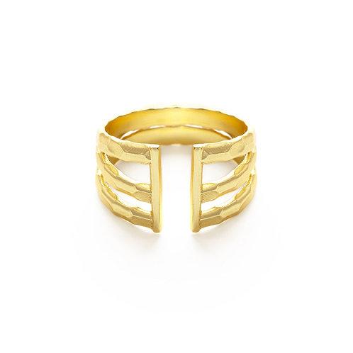 Barred Ring- R022B
