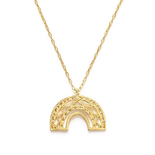 Aztec Rainbow Necklace
