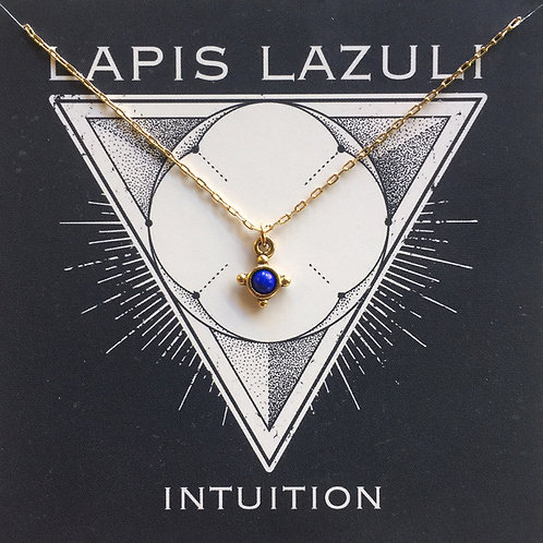 Lapis Lazuli - Gemstone Powers Necklace
