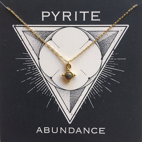 Pyrite - Gemstone Powers Necklace