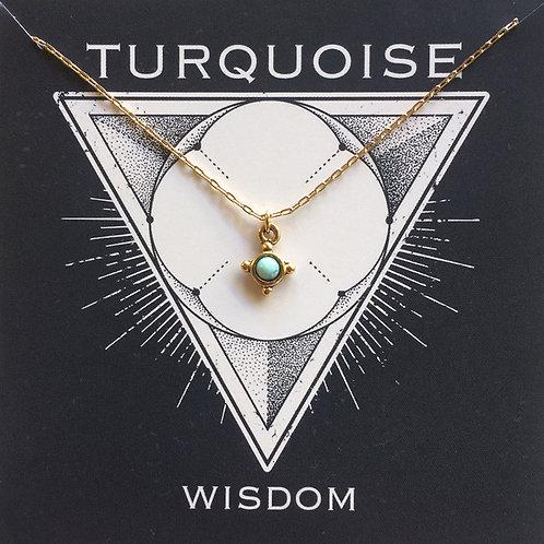 Turquoise - Gemstone Powers Necklace