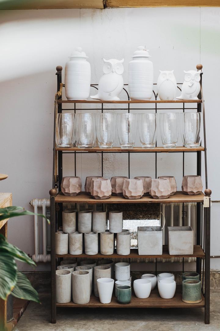 Auswahl an Vasen & Übertöpfen