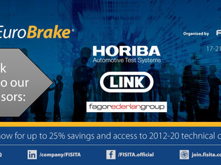 Horiba, Link and Fagor Ederlan sponsor EuroBrake 2021