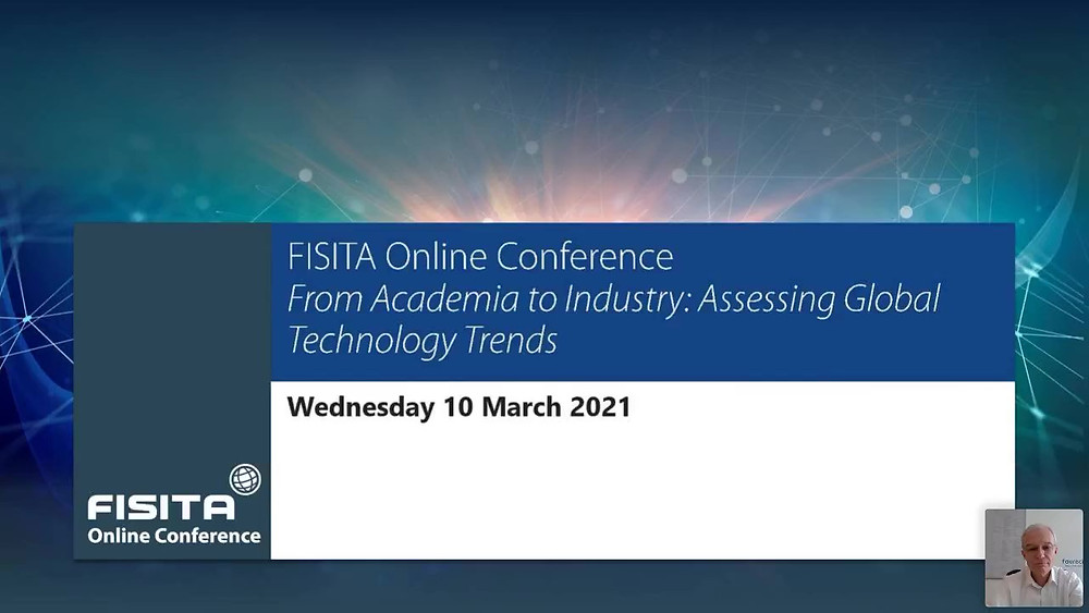 Link to the WebinarJam replay link for the Assessing Global Technology Trends FISITA Online Conference