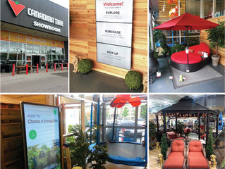 New Store Design: Canadian Tire Showroom