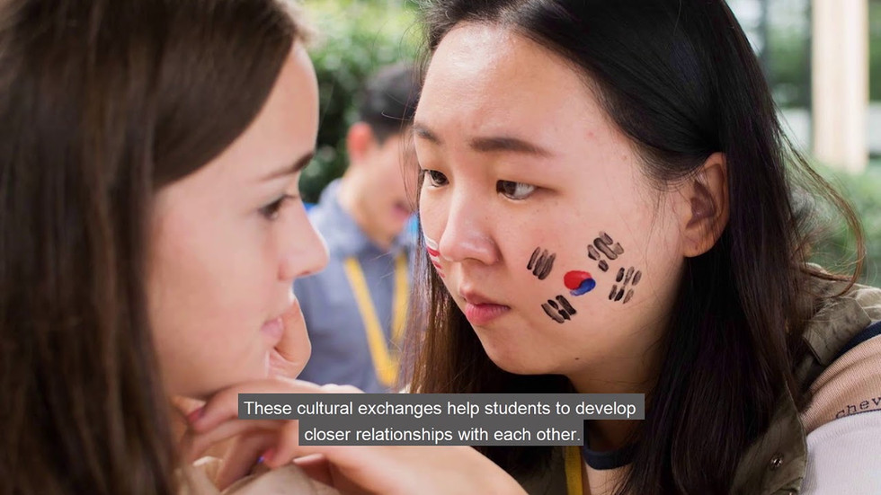 밥존스 대학교 홍보영상