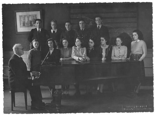 1946, Classe d'harmonie de Maître Jean Gallon
