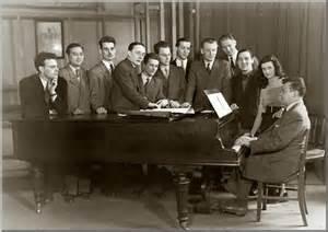 1948, classe de composition de Maître Tony Aubin