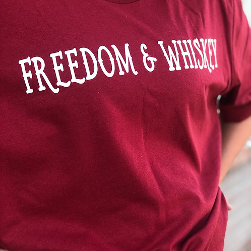 Freedom & Whiskey Graphic T