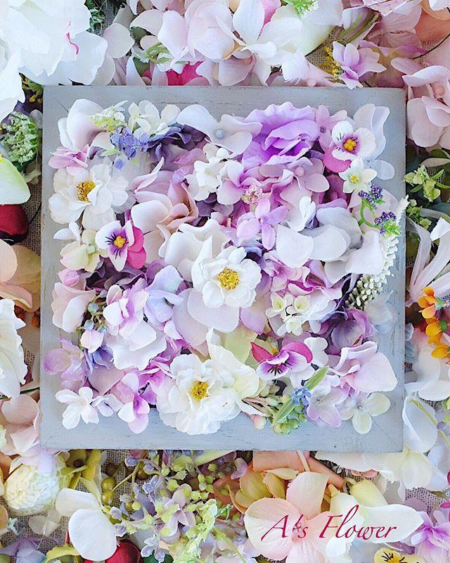 Artficial spring floral frame 2019 🌸_Ma
