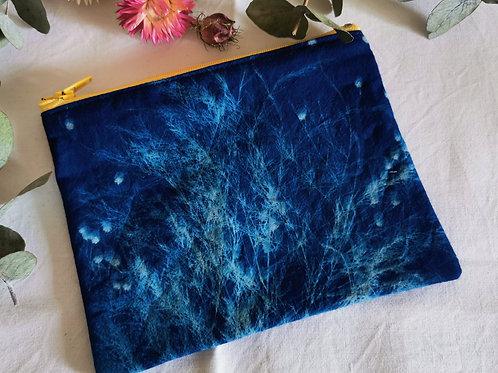 Pochette Cyanotype graminés