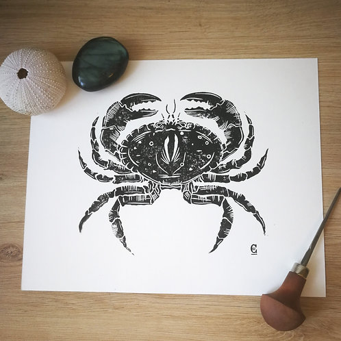 Impression Crabe