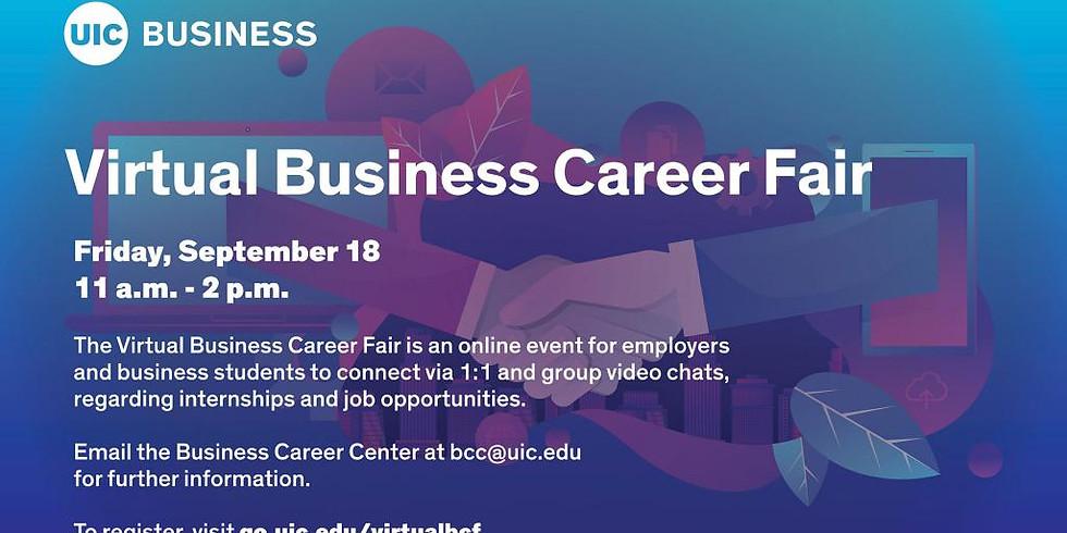 Virtual Business Career Fair