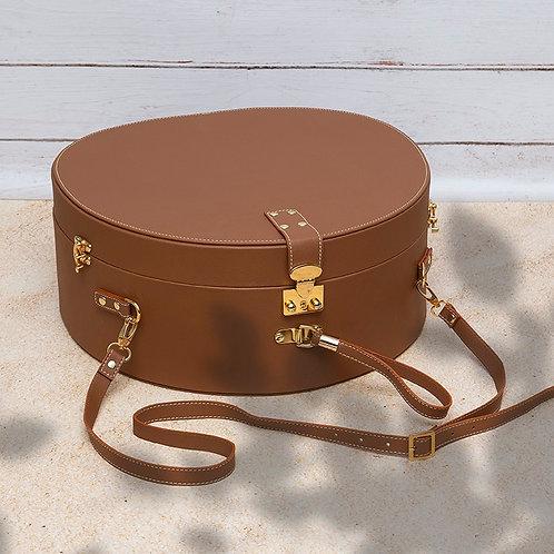 Oversized Hat Box Bag