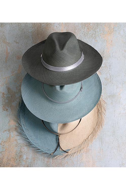 Soft blue Panamahat