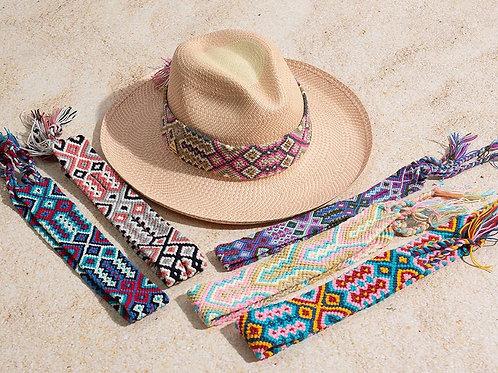 Bora hat // pink wayu