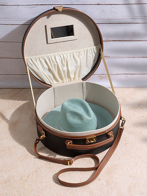 Oversized Hat Box Bag