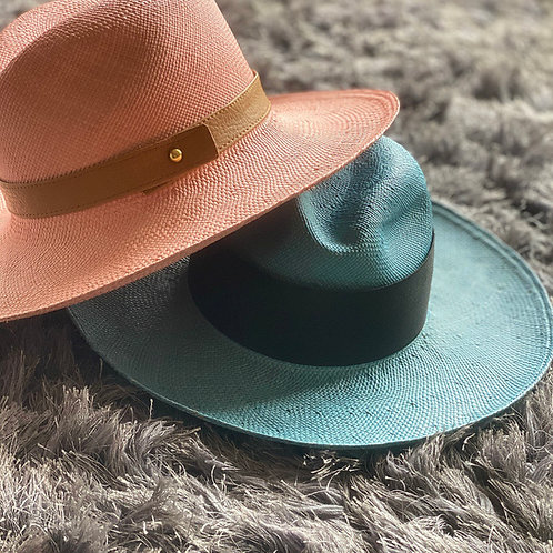 Soft colors Panamahats
