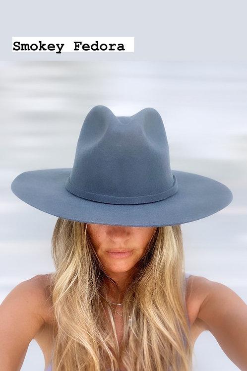 Smokie Fedora hat