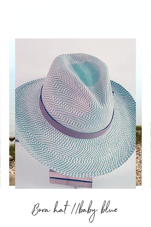Bora hat // baby blue