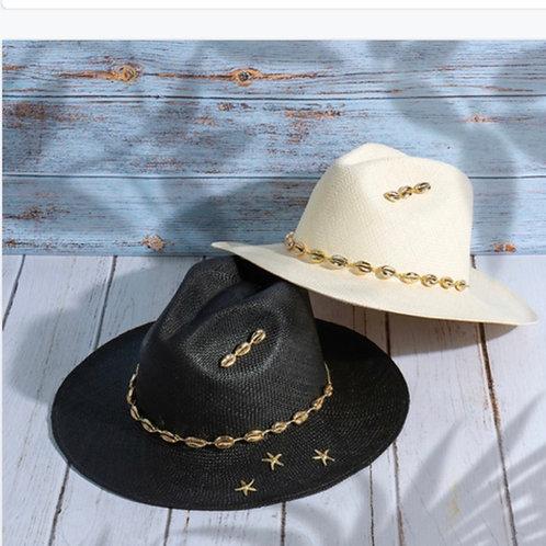 Seashell hat
