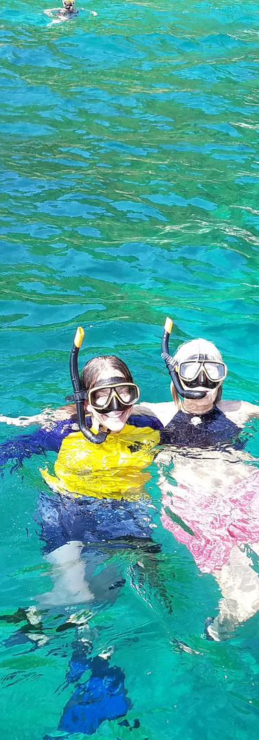 Snorkeling with Lindsey