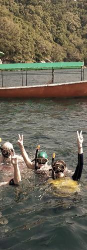 Snorkeling in Surin Islands