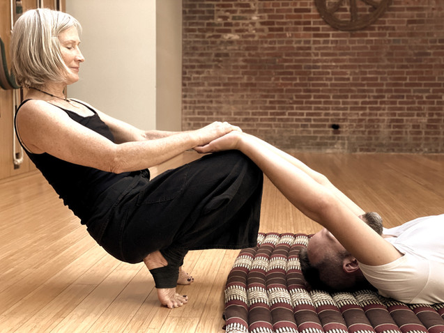 Integrated full body stretch