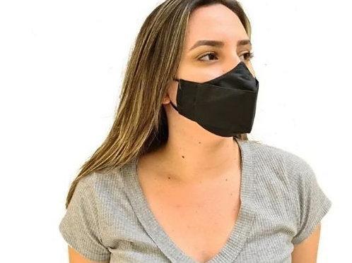máscara 3D antiviral com aplicação de Ag+fresh by Nanox