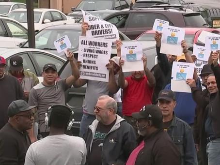 Motoristas de UBER fazem greve mundial por aumento de participação na tarifa