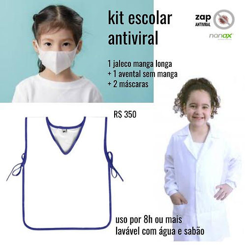 kit infantil escolar antiviral