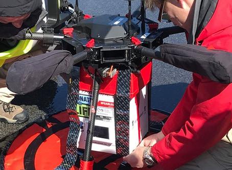 INÉDITO:  Drone transporta rim doado para transplante