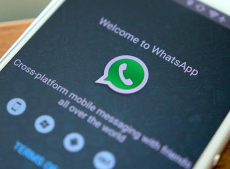 WhatsApp avisa que deixará de funcionar em smartphones antigos