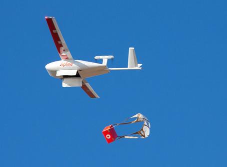 Drones já entregam vacinas em regiões remotas