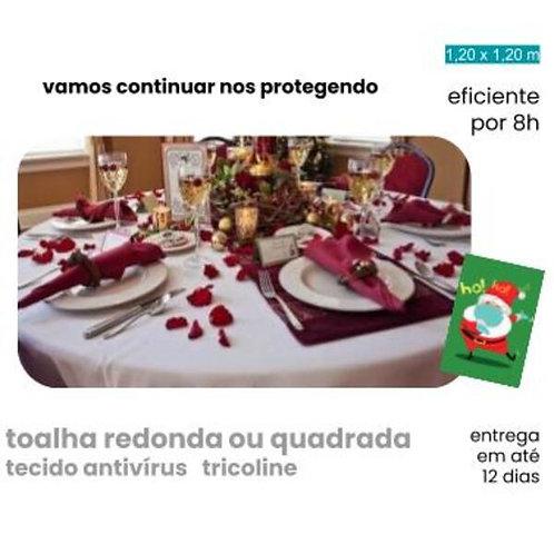 toalha de mesa para ceia de natal  Ag+fresh by Nanox