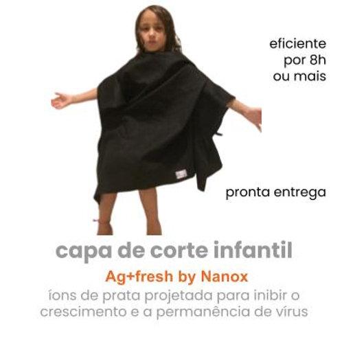 capa de corte feminina ou inf antiviral  tricoline  aplicação de Ag+fresh
