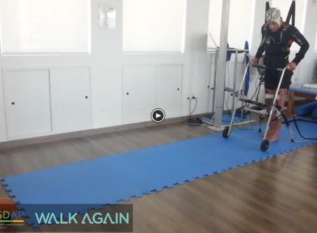 Cientista brasileiro  faz paraplégicos  caminharem