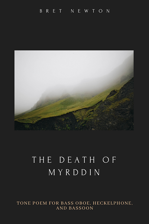 The Death of Myrddin