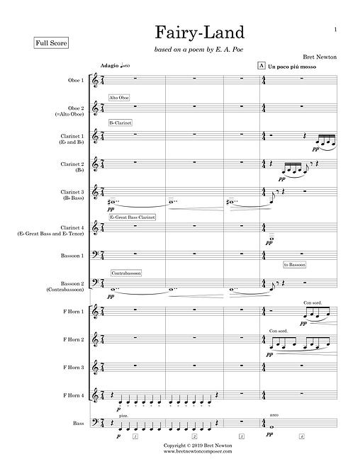 Fairy-Land - Full Score