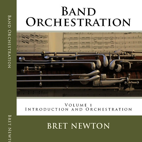 (eBook) Band Orchestration - Volume 1: Introduction and Orchestration