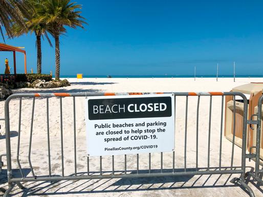 Florida Beaches Reopen