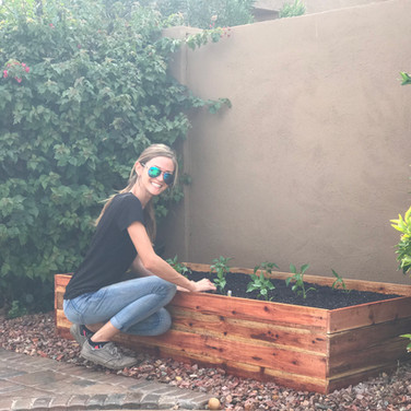 Standard sized raised bed