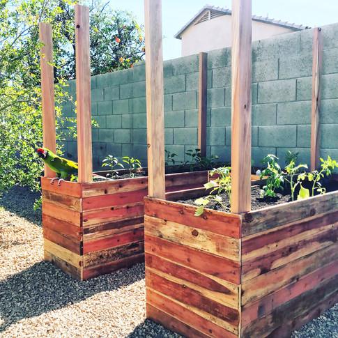 Custom U-Shaped Garden