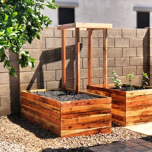 Custom Garden Boxes