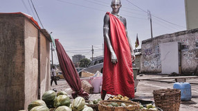 William Nsai, le photographe qui a la tête dans le digital.